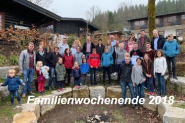 Foto Familienwochenende 2018