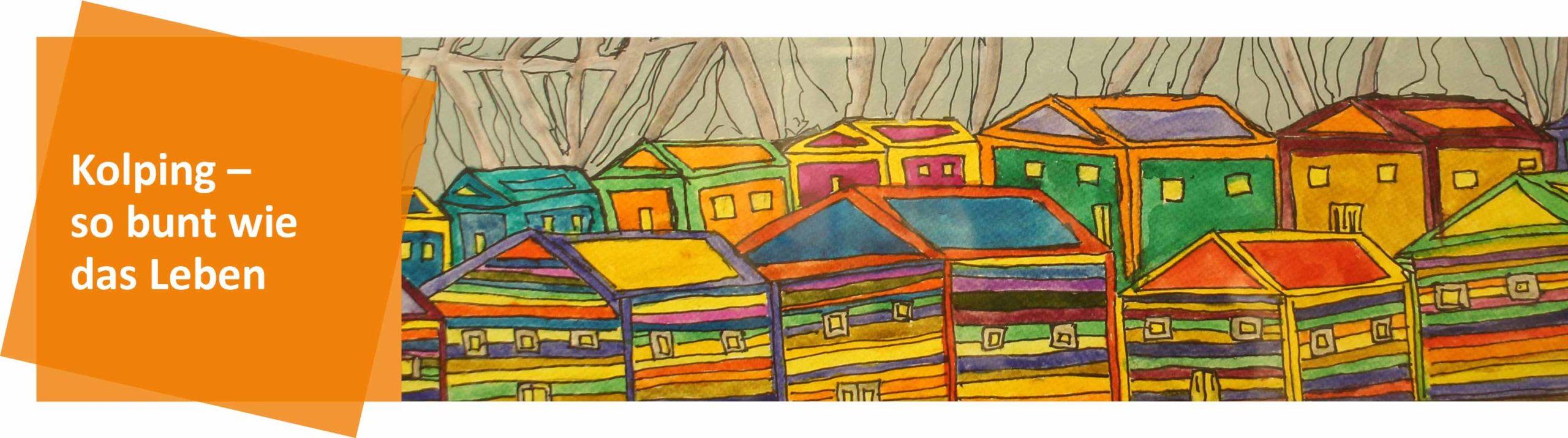 Headerbild - Bunte Häuser